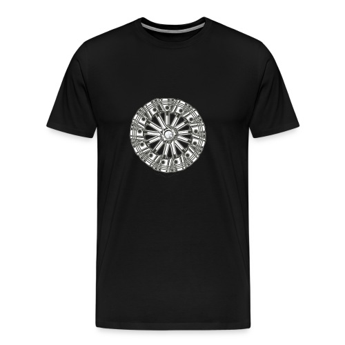 zuiger rol - Mannen Premium T-shirt
