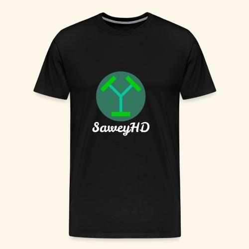 SaweyHD Schwarz - Männer Premium T-Shirt