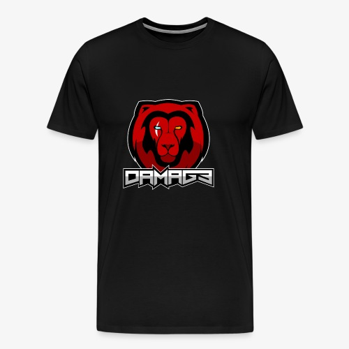 Damag3 Logo - Men's Premium T-Shirt