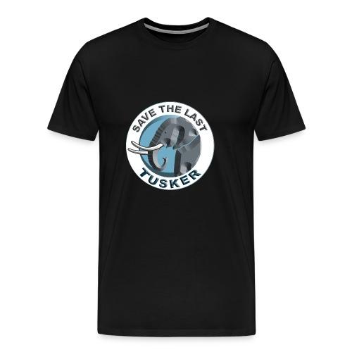 Save The Last Tusker - Männer Premium T-Shirt