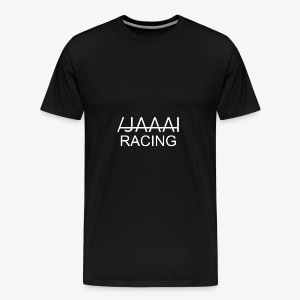 jahaa racing - Premium T-skjorte for menn