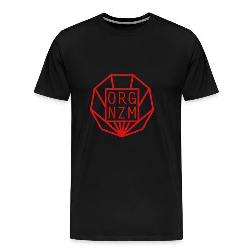 ORGANIZM Logo - Männer Premium T-Shirt