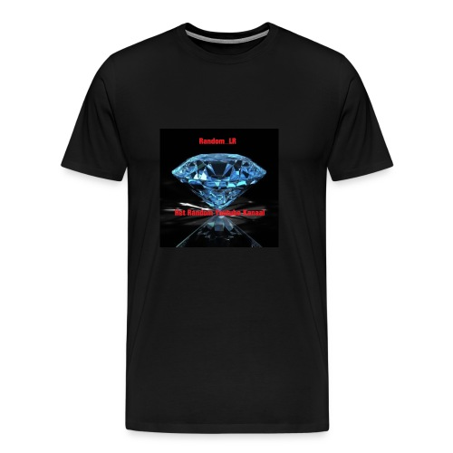 Random LR Logo - Mannen Premium T-shirt