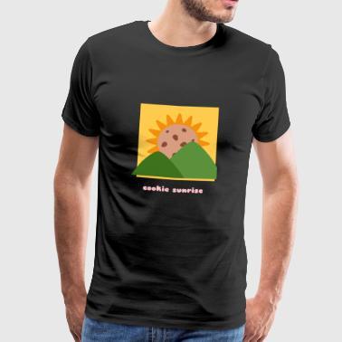 Plätzchen-Sonnenaufgang - Männer Premium T-Shirt