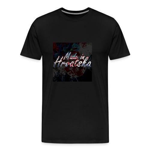 MadeInHrvatska - Männer Premium T-Shirt