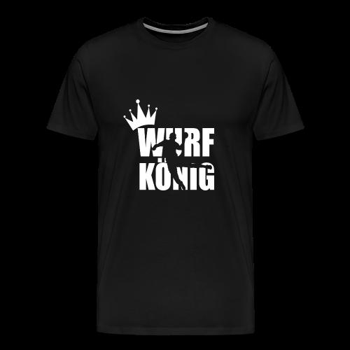 Wurfkoenig - Männer Premium T-Shirt