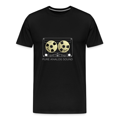 Reel golden cassette - Men's Premium T-Shirt
