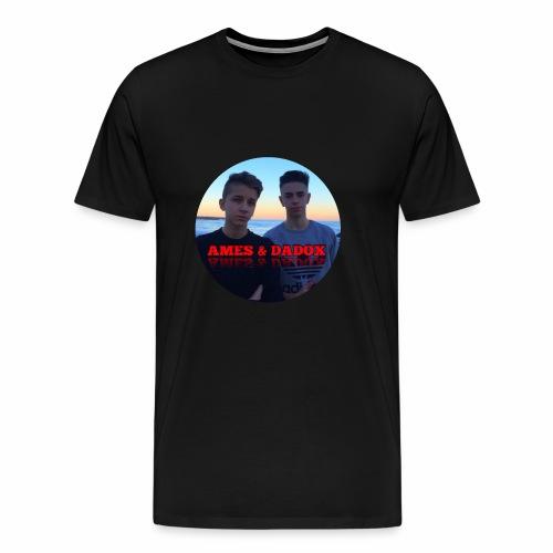 AMES & DADOX - Maglietta Premium da uomo