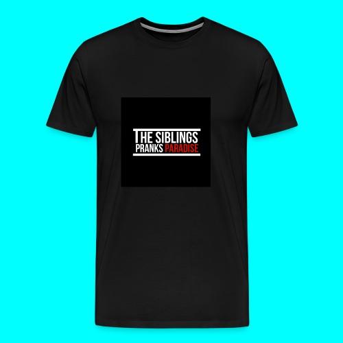 TheSiblingsPranksParadise - Men's Premium T-Shirt
