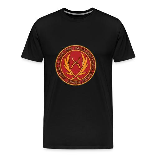 Valor y Constancia - Camiseta premium hombre