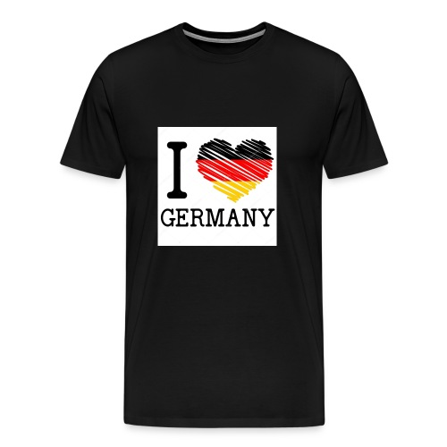I love germany - Männer Premium T-Shirt