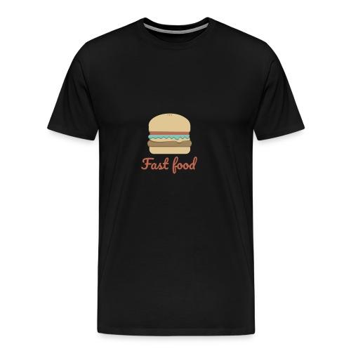 Fast food! - Männer Premium T-Shirt