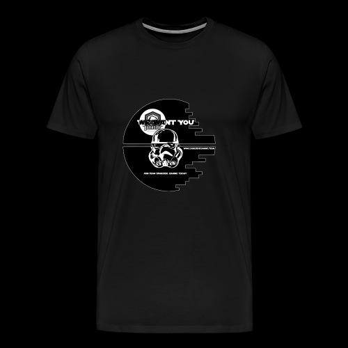 DarkSide Gaming We Want You Death Star Logo - Men's Premium T-Shirt