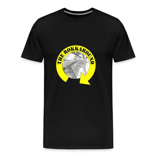 ROKKAROUND - Maglietta Premium da uomo