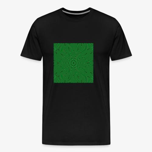 Psychedelic Star - Männer Premium T-Shirt