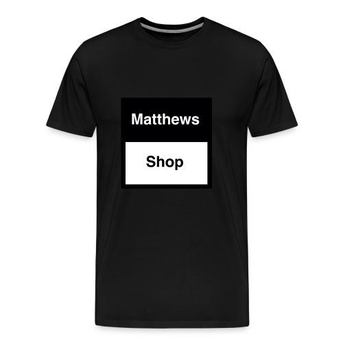 Matthews Shop T-shirt - Mannen Premium T-shirt