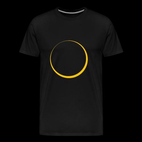 ECLIPSE - Yellow Sun - Maglietta Premium da uomo