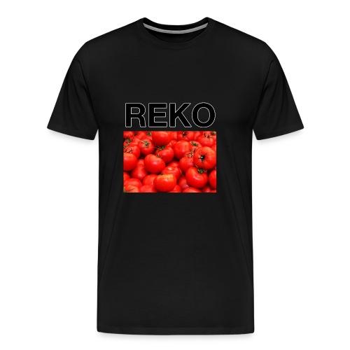 REKOpaita tomaatti - Miesten premium t-paita