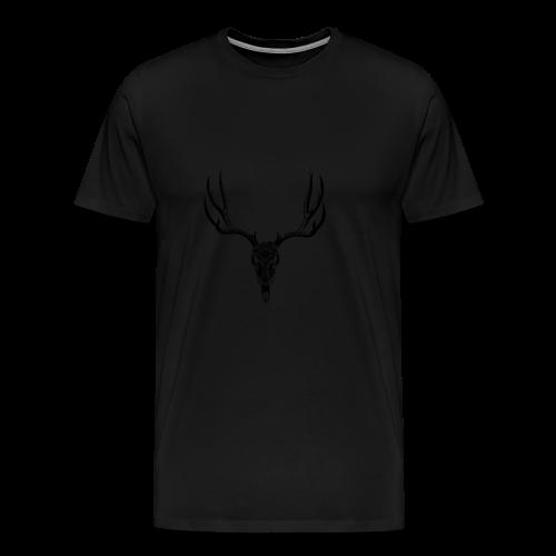Deerskull - Mannen Premium T-shirt