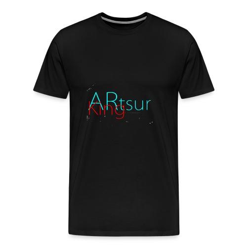 ARtsurKing Logo - Herre premium T-shirt