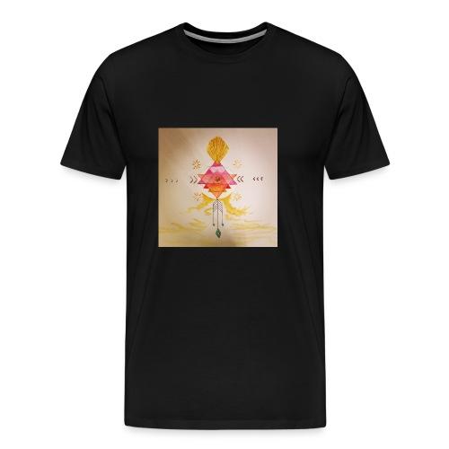 Yantra Sonnenenergie - Männer Premium T-Shirt