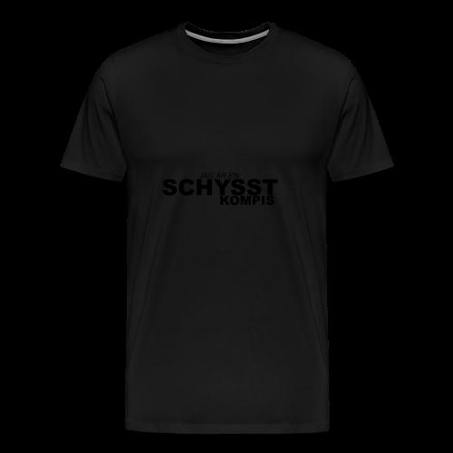 BASIC_BLACK - Premium-T-shirt herr
