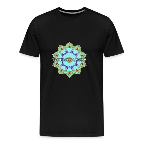 Enjoyably Quirky Colouring Book Design 9 - Men's Premium T-Shirt