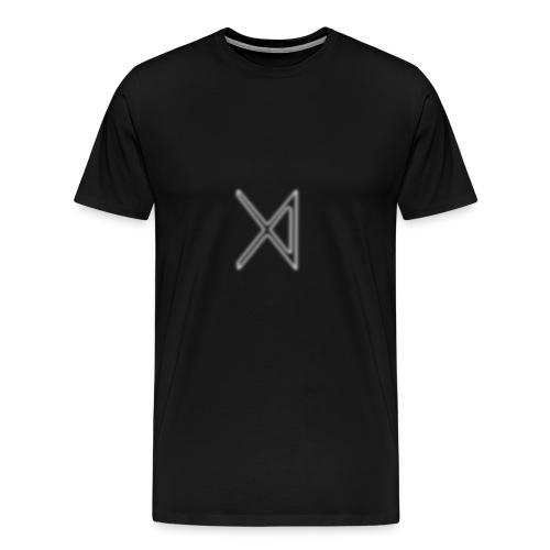 Uthoria The 4th Symbol (In White) - Men's Premium T-Shirt