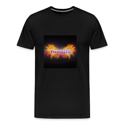 Flaming Pheonix YT - Men's Premium T-Shirt