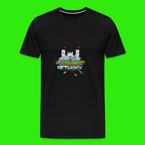 OverSizeNetwork's Logo - Premium-T-shirt herr