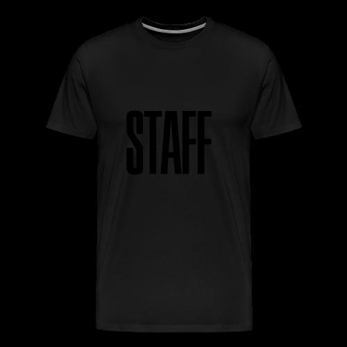 Staff. - Männer Premium T-Shirt