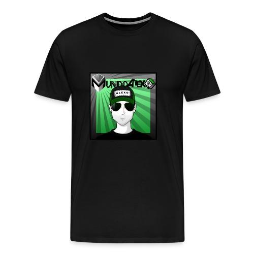 Logo clasico M alexo - Camiseta premium hombre