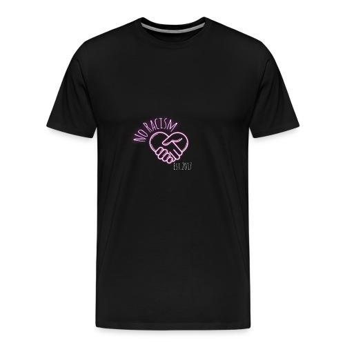 NO Rassism - Männer Premium T-Shirt