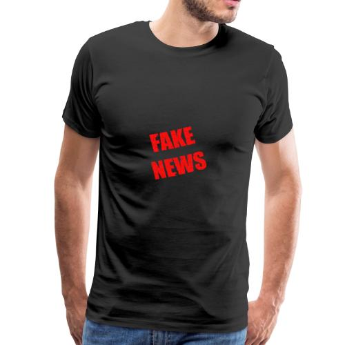 fake news 2127597 1920 - Männer Premium T-Shirt