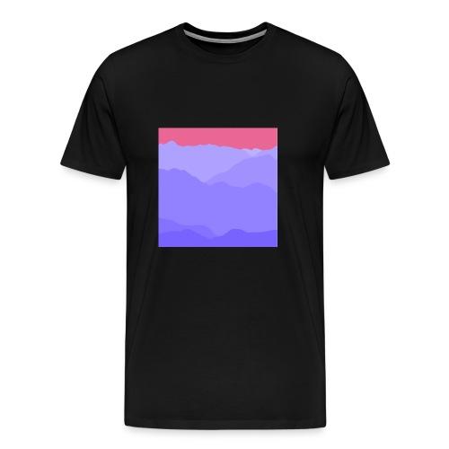 mountain four - Männer Premium T-Shirt