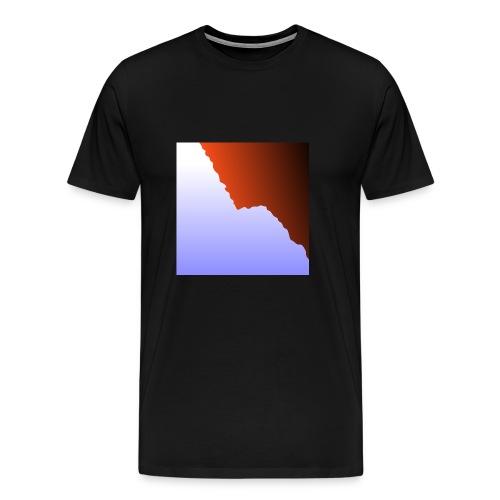 mountain three - Männer Premium T-Shirt