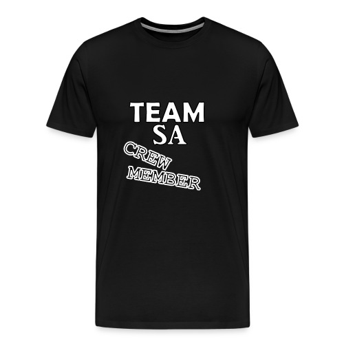 Team SA Crew Member Vit - Premium-T-shirt herr