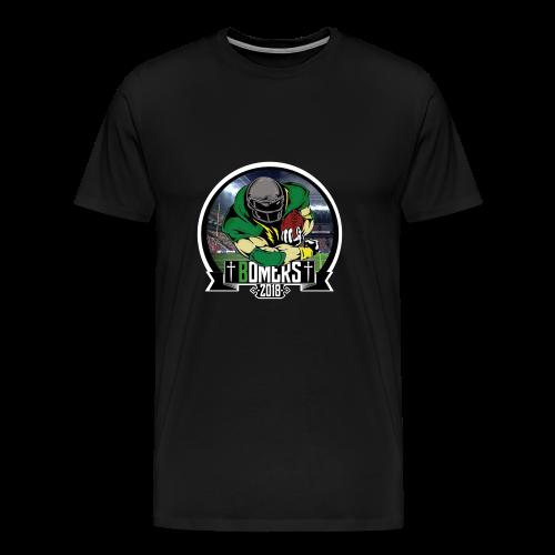 Bomers logo 2018 - Premium T-skjorte for menn
