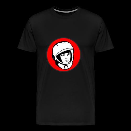 YN Logo mit schwarzem Rand - Männer Premium T-Shirt
