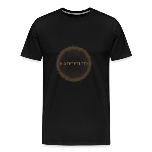 Kaffeefleck - Männer Premium T-Shirt