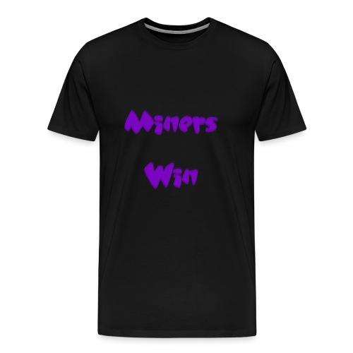 MinersWin Pink - Männer Premium T-Shirt