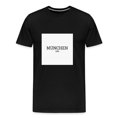Muenchen 089 - Männer Premium T-Shirt