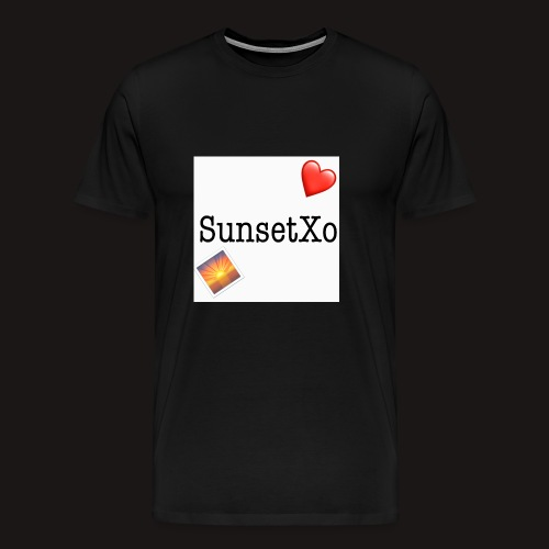 sunsetxo - Men's Premium T-Shirt