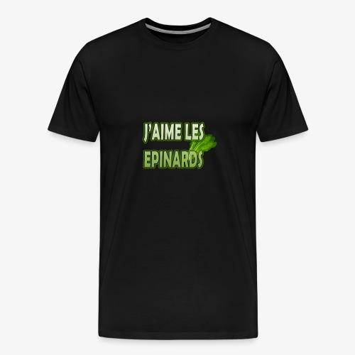 EPINARDS - T-shirt Premium Homme