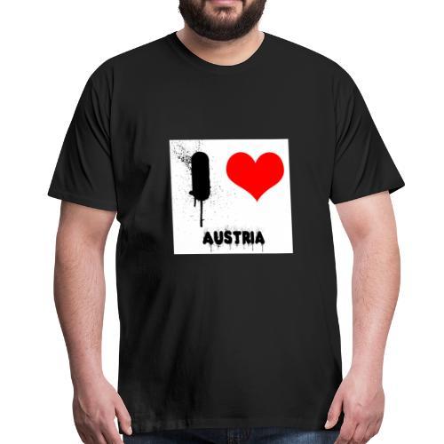 I love Austria - Männer Premium T-Shirt