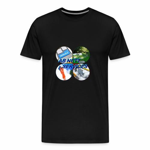 AB NETT SERVICES - T-shirt Premium Homme