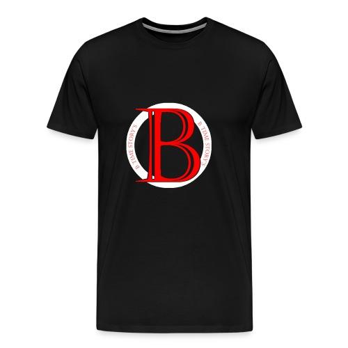 Wit Rood logo - Mannen Premium T-shirt
