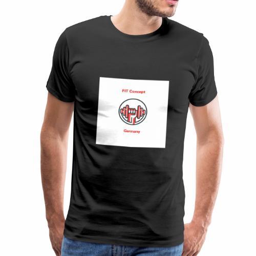 FIT Concept Germany Logo+Beschriftung - Männer Premium T-Shirt