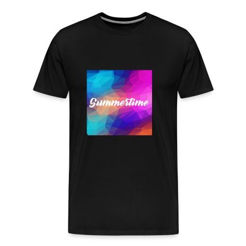 SummerTime Motiv Geschenk - Männer Premium T-Shirt
