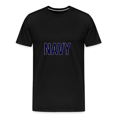 NAVY - Navy Blue - Men's Premium T-Shirt